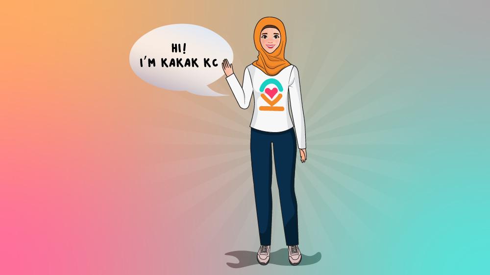 Say Hello to Kakak KC!